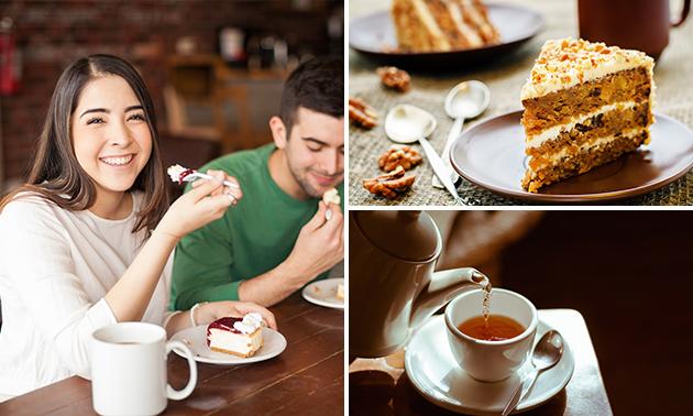Afhalen: huisgemaakte taart + evt. theeproeverij