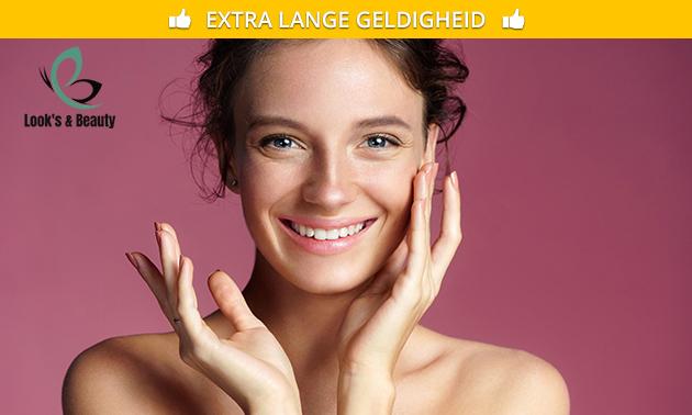Gezichtsbehandeling (60 min) of huidverbeterende behandeling