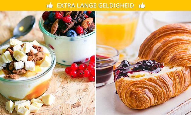 Ontbijtplank of frozen yoghurt bij Lots & More