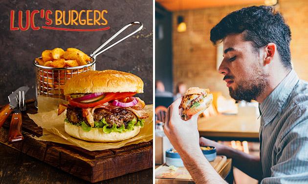 Burger naar keuze + friet in hartje Enschede