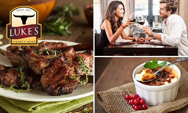 Tomahawk Steak bei Luke's Steaks & More