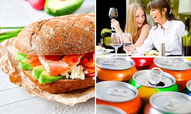 Broodje + drankje naar keuze bij Lunch & Diner To Go