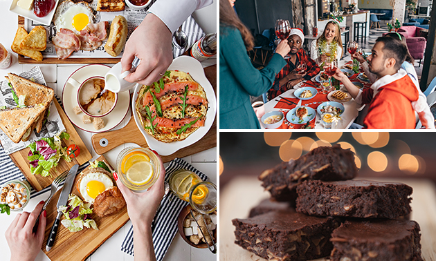 Thuisbezorgd of afhalen: feestelijke brunch