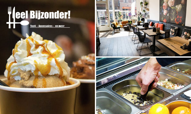 Cookie dough-sorbet voor 2 personen