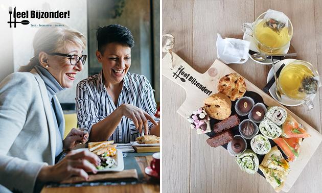 Afhalen: high tea bij Lunchroom Heel Bijzonder