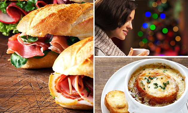 Lunchroom meneer en mevrouw abajo luxe kerstbrunch for Kerstbrunch rotterdam