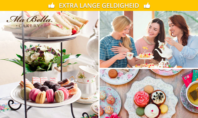 Afhalen: luxe high tea