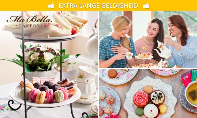 Afhalen: luxe high tea bij Ma Bella Cakery