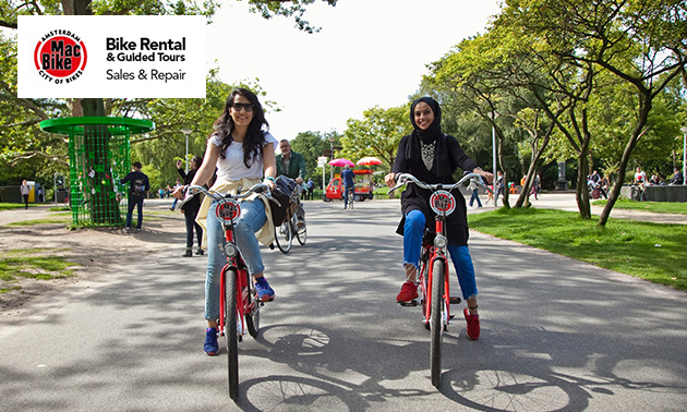 Huur 24 uur een fiets in Amsterdam (4 locaties)