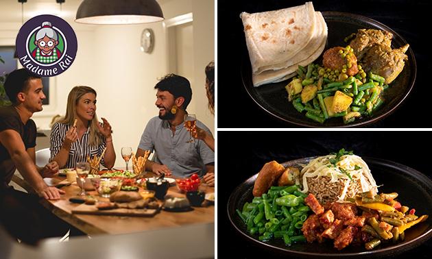 Waardebon voor Surinaamse afhaal- en bezorgmaaltijden