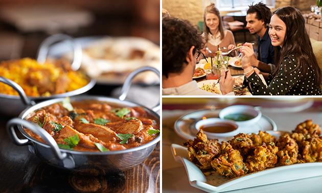 4-gangen keuzediner bij Mahi Exotic Indian Restaurant