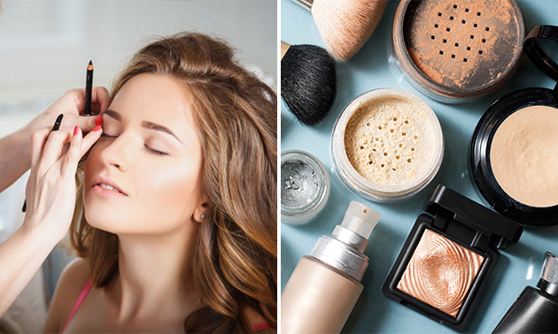 Masterclass make-up + lunch + koffie/thee (4,5 uur)