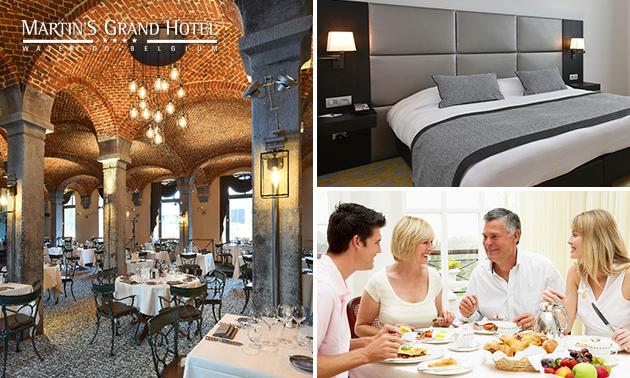 Hotelovernachting + ontbijt voor 2 in Waterloo
