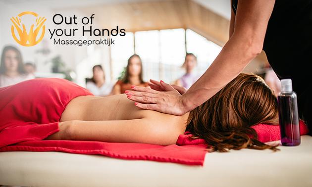 Workshop masseren + lunch + massageolie (4 uur)