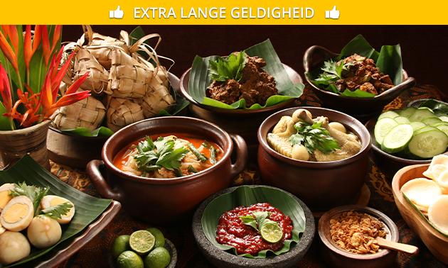Afhalen: Indonesische rijsttafel bij Maxima's