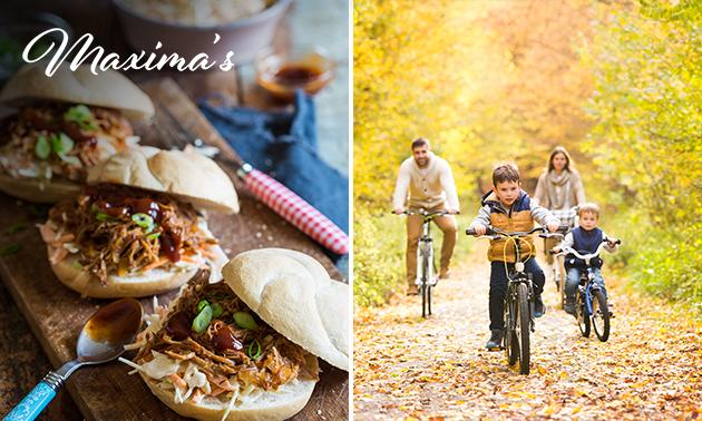Wandel- of fietsarrangement + lunchpakket bij Maxima's