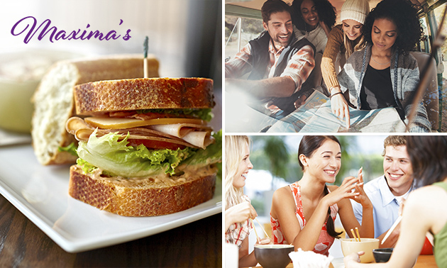Autoroute + lunch + rijsttafel bij Maxima's