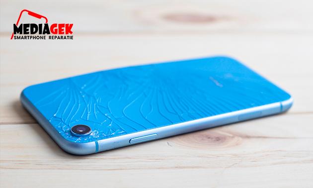Reparatie van scherm of achterkant iPhone