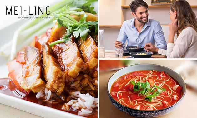 Afhalen: Chinese rijsttafel voor 2 bij Mei Ling