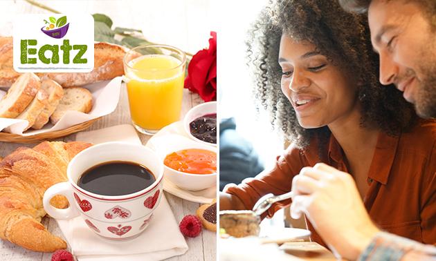 Thuisbezorgd of afhalen: luxe ontbijt + verse jus bij Mickers 2.0