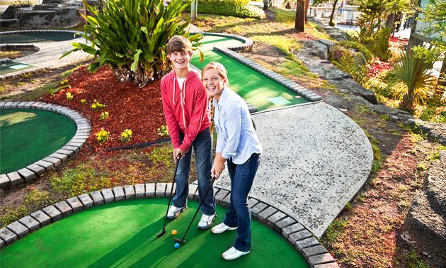Midget golf wageningen