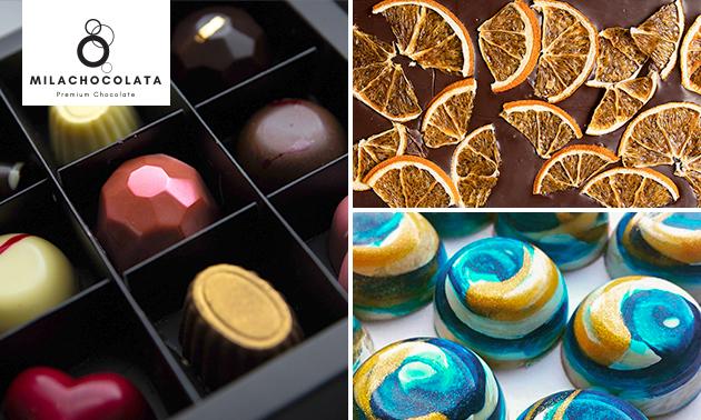 Gratis thuisbezorgd: luxe chocoladepakket