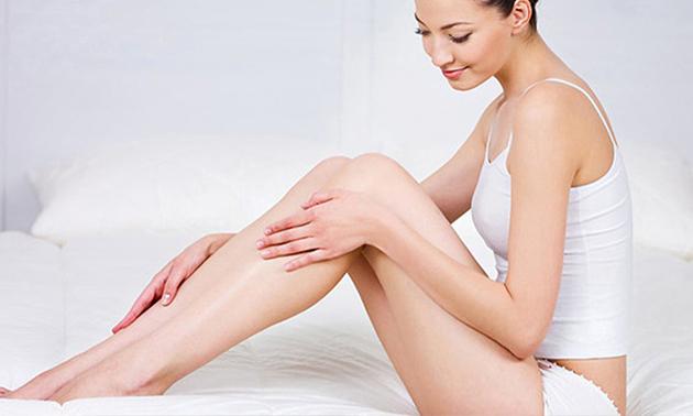 Waxbehandeling van 3 zones + beenmassage (75 min)
