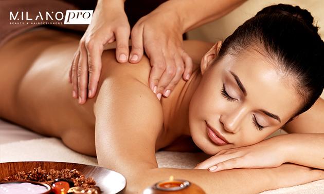 Massage- en spabehandeling bij Milano Pro