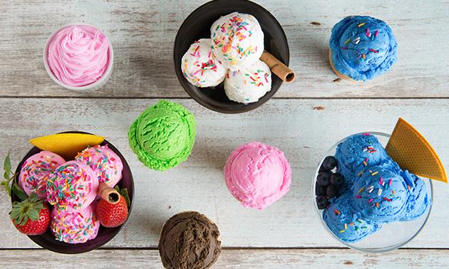 Luxe ijs naar keuze bij Monster Sushi Hengelo