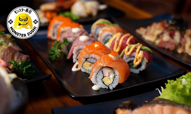 Afhalen: sushibox (24 of 40 stuks) Monster Sushi Zwolle