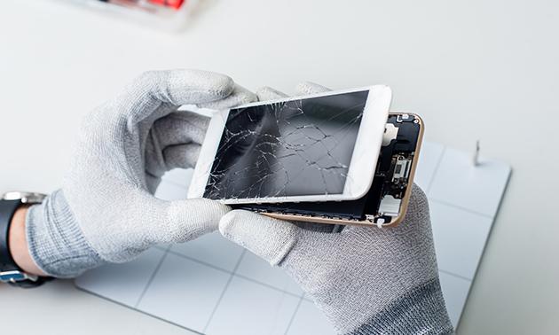 Batterij vervangen van je iPhone