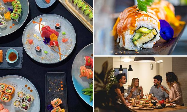 Afhalen: sushibox (24, 38 of 60 stuks) bij Mr. Sushi