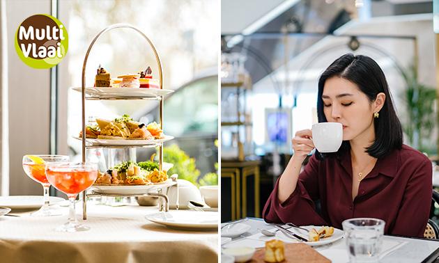 Thuisbezorgd of afhalen: high tea van Multivlaai