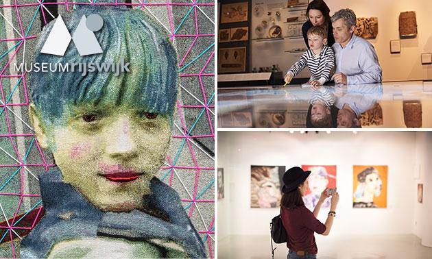 Entree tot Textiel Biënnale in Museum Rijswijk