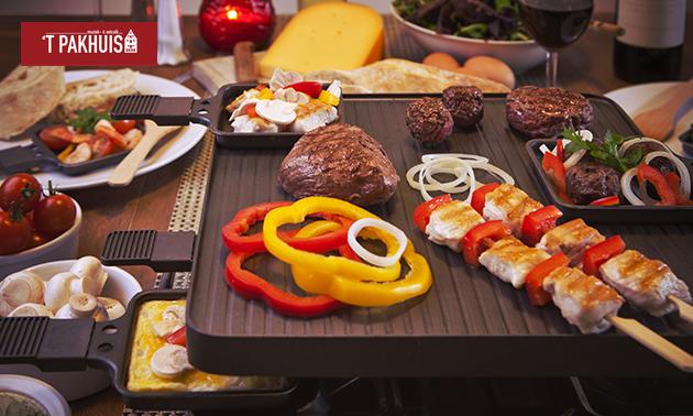 Afhalen: compleet gourmetpakket voor 1, 2 of 4 personen