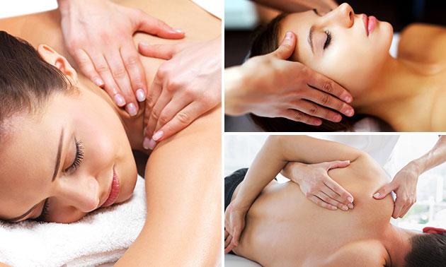 Massage naar keuze (50 of 65 min)