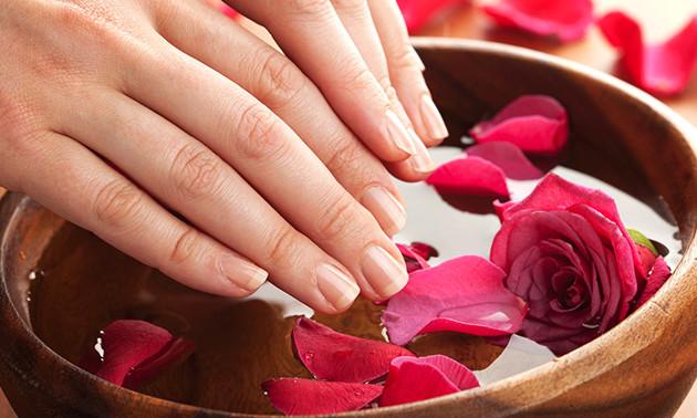 Manicurebehandeling + gellak (50 min)