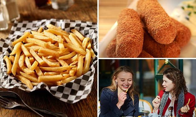 Friet + snack bij Natuurlijk Friet in hartje Assen