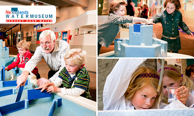 Entree tot het Nederlands Watermuseum