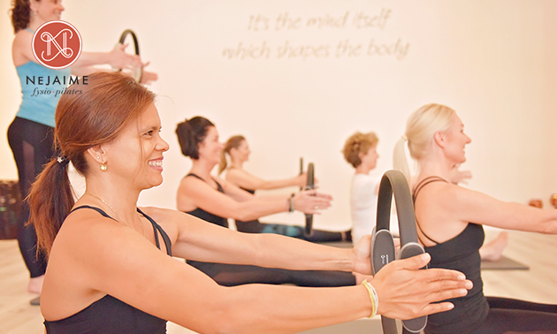 Pilates- en/of yogalessen OF 1x personal training