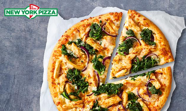 New York Pizza naar keuze óf 10 pizza's