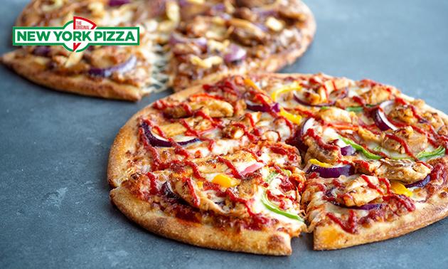 Afhalen: pizza (25 cm) naar keuze bij New York Pizza