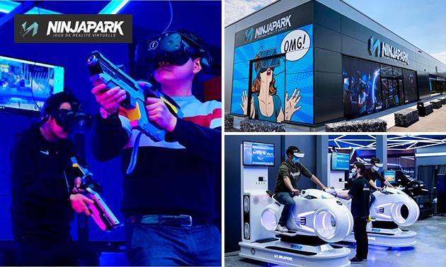 1 heure de jeux de réalité virtuelle