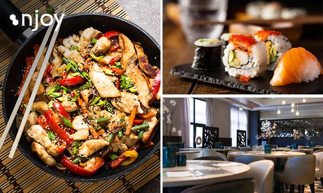 Afhalen: werelds diner voor 4 personen bij Njoy