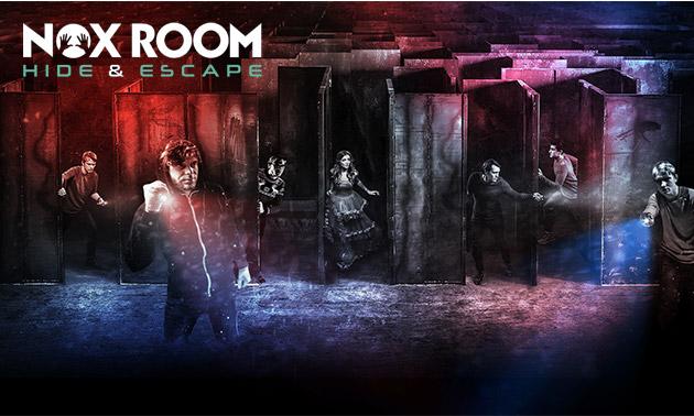 Actiespel NOX Room (120 min) + drankje + snack