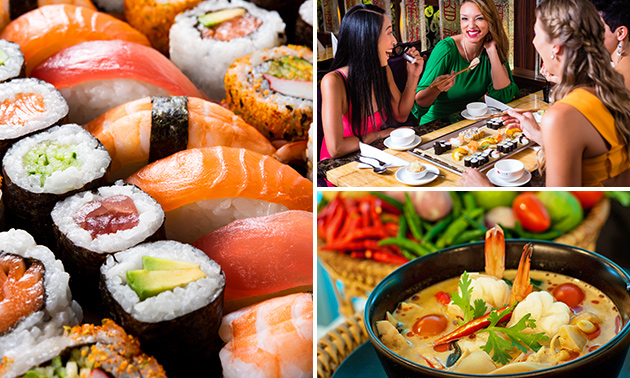 Japans bentobox-diner in hartje Den Haag