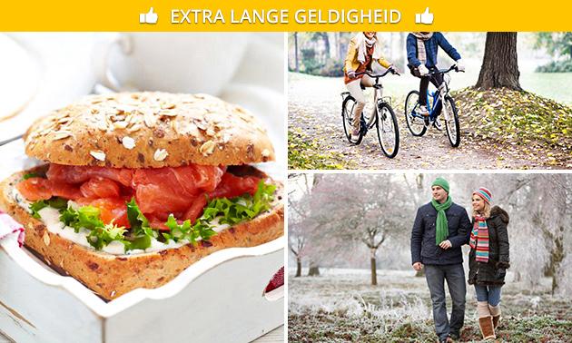 Wandel-/fietsarrangement + lunch bij ONS