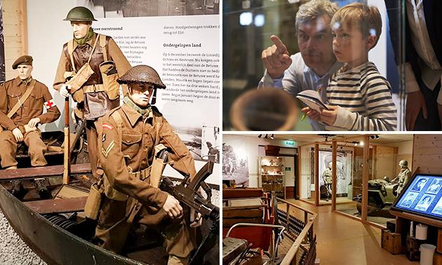 Entree- of familieticket Oorlogsmuseum Niemandsland