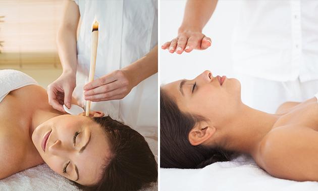 Reikibehandeling of oorkaarstherapie (60 min)