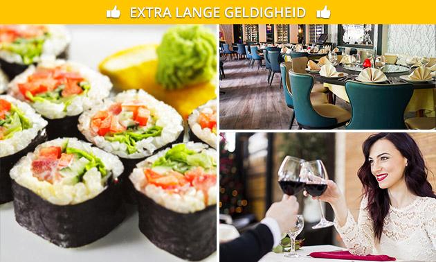 Japans 10-gangendiner bij Restaurant Juliana